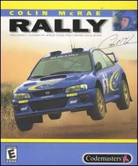 Colin McRae Rally PC CD Off Road Racing Simulation Game
