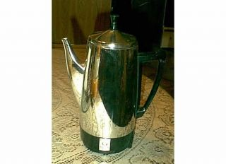 STAINLESS STEEL 12 CUP COFFEE POT MAKER PEROLATOR 0281105 SIGNAL