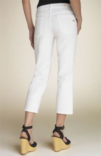 Citizens of Humanity Kelly Crop Stretch Jeans (White)
