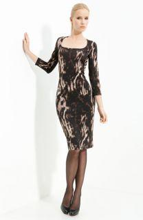 Just Cavalli Animal Print Jersey Dress