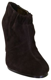 Sam Edelman Simone Brown Suede Ankle Boot Shoes 8 5 New