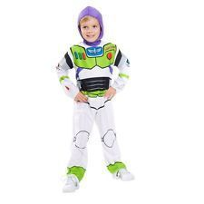 Boys Disney Toy Story Buzz Lightyear Play Deluxe Costume Size 8 NWT