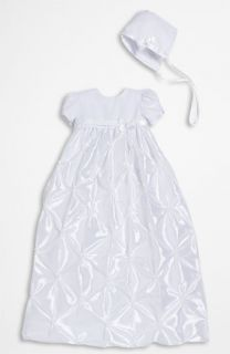 Little Things Mean a Lot Taffeta Gown & Bonnet (Infant)