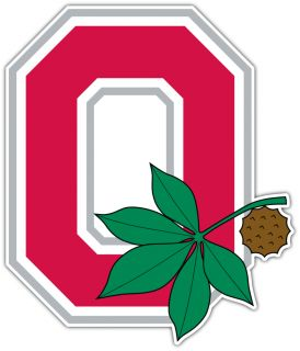 Buckeyes NCAA College Car Bumper Window Sticker Decal 4X5