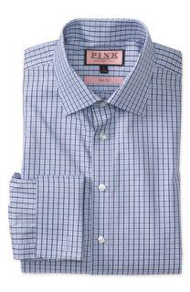 Thomas Pink Trim Fit Dress Shirt
