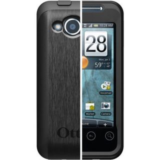OtterBox Commuter Case for HTC EVO Shift 4G Black W Screen Protector