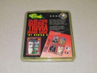 Classic MLB Baseball Trivia Board Game 1991 Series 2