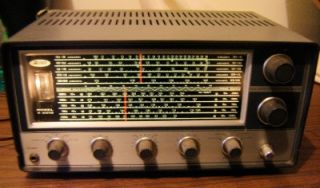 Allied A 2515 Short Wave Radio with Speaker Working Great No Res