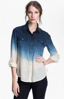 Lucky Brand Brooke Dip Dye Shirt
