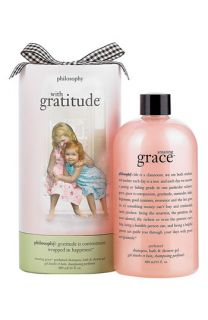 philosophy with gratitude   amazing grace shampoo, bath & shower gel