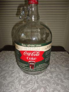Vintage Coca Cola Syrup Jug