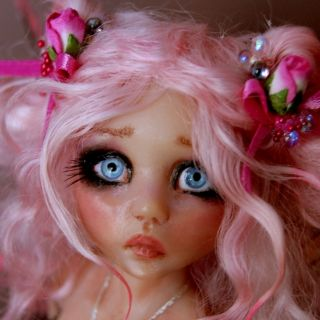 OOAK Fairy Fantasy Art Doll Pepper by Esmeralda Gonzalez Doll Tears