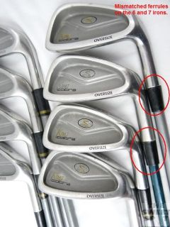 Cobra Golf King Cobra Oversize Iron Set 3 8i PW Graphite Right Hand