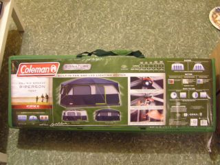 ... Coleman Prairie Breeze 9 person Cabin Tent Brand new in box ... & Coleman WeatherMaster Cabin Tent