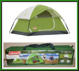 ... New Coleman Durango 2 Person C&ing Tent 7 x 5 Green ...  sc 1 st  PopScreen & trisar person tent on PopScreen