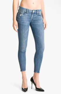 MOTHER The Looker Crop Skinny Jeans (Graffiti Girl)