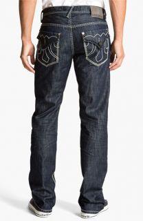 MEK Denim Straight Leg Jeans (Rinse)