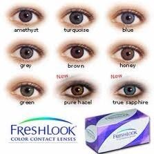 Freshlook Color Contact Lenses
