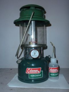 COLEMAN CANADA KEROSENE LANTERN MODEL 335 MARCH 1973 AND RED LETTERED