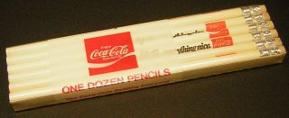 VINTAGE COCA COLA 1970s 12 pack of pencilsAdds life to everything