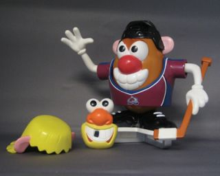Colorado Avalanche Official Mr Potato Head Doll Toy