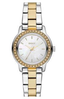 DKNY Glitz Small Round Dial Bracelet Watch