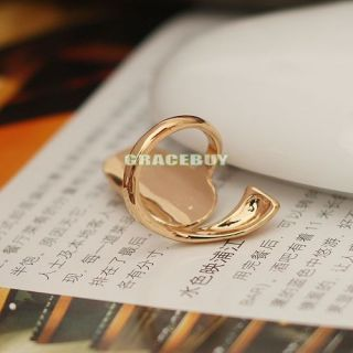 Fashion Shiny Animal Rhinestone Fingernail Ring / Nail Ring in
