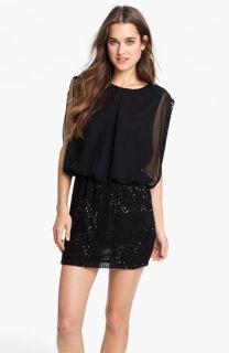 Romeo & Juliet Couture Beaded Blouson Dress