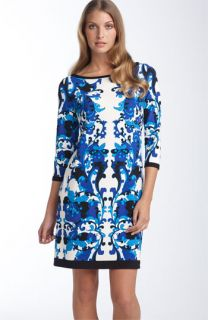 Muse Print Matte Jersey Shift Dress