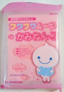 Fuwa Mousse Light Air Dry Clay Baby Pink Blue Yellow Miniature Cake