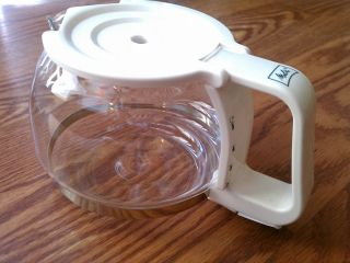 Melitta 5 Cup Replacement Carafe White