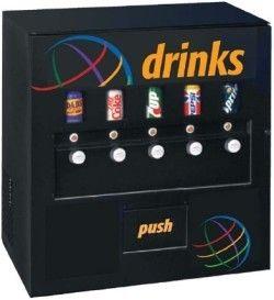 we carry a full vending machine line soda machines snack