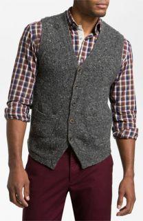 Hickey Freeman Donegal Merino Blend Sweater Vest