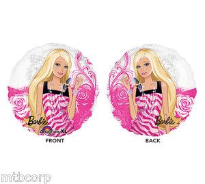 Pink Black See thru Clear Birthday Party Balloon Decorations