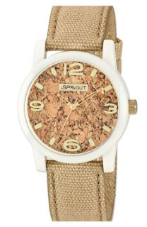 SPROUT™ Watches Cork Dial Strap Watch, 38mm