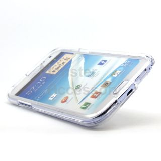Clear Hard Case Cover for Samsung Galaxy Note 2 N7100