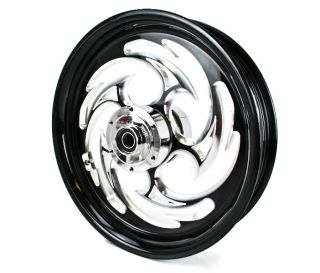 08 12 Suzuki Hayabusa RC Components 1 Piece Front Wheel Black Eclipse
