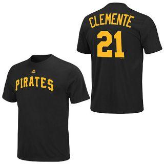 Pittsburgh Pirates Roberto Clemente Jersey T Shirt L