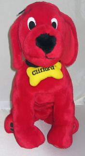 Kohls 14 Plush Clifford the Big Red Dog EUC