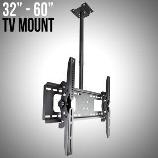 Wall Mount Ceiling 32 37 42 46 50 52 60 LCD LED Plasma Flat Screen New
