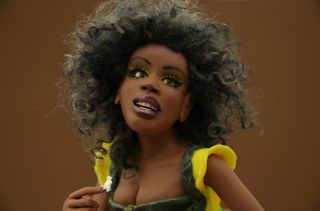 Fairy OOAK Doll Sculpture DMA Iadr Adsg OAD Prfag by A Nicolin
