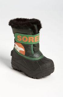 Sorel Snow Commander Boot (Baby & Walker)