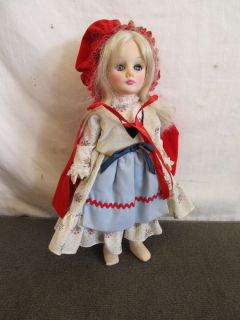 Effanbee Storybook Collection Dolls – County Doll w Red Hood