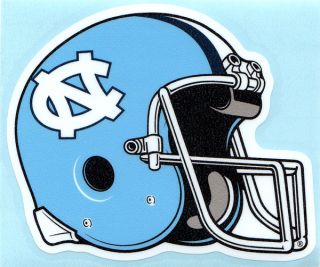 Tarheels Football Helmet Vinyl Decal Tar Heels Car Sticker UNC