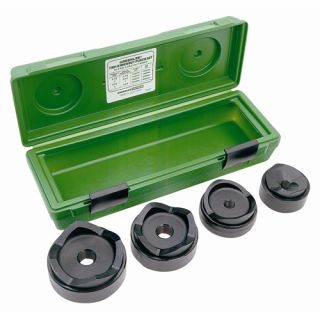 Greenlee 7304 2 1 2 4 Conduit Size Standard Round Knockout Punch Kit