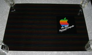 VINTAGE   APPLE COMPUTER POSTER & BOOK COVER MINT 1980s