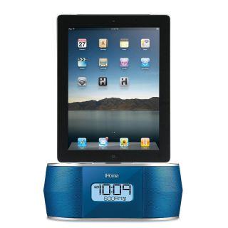 iHome FM Stereo Alarm Clock Radio for iPad iPhone