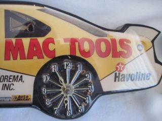 Ernie Irvan 28 Thunderbird Mac Tools NASCAR Clock Race