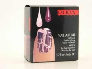 pupa nail art kit 993 pink purple