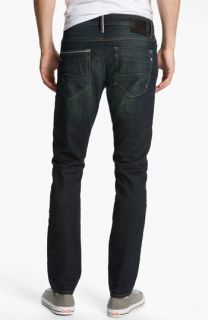 Mavi Jeans Jake Slim Tapered Leg Jeans (Smoke White Edge)